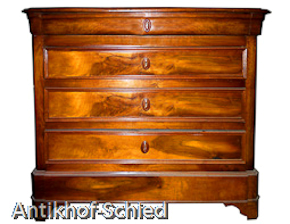 biedermeier kommode nussbaum antik hof schied antike m bel antiquit ten und restauration. Black Bedroom Furniture Sets. Home Design Ideas