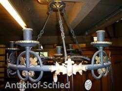 Antike Deckenleuchter (Kerzen)