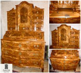 Die Geschichte Des Antiken Sekretärs Antike Schreibtisch Und